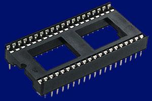Ein IC-Sockel